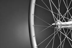 Primer de la rueda de bicicleta Imagen de archivo libre de regalías