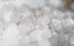 Primer de la sal gruesa del mar Foto de archivo libre de regalías