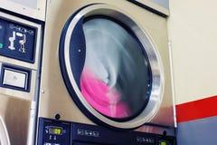 Primer de la secadora del servicio del uno mismo imagen de archivo