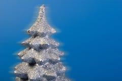 Primer de la tapa del árbol de plata fotos de archivo libres de regalías