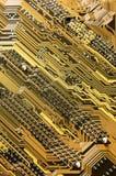 Primer de la tarjeta de circuitos imagenes de archivo