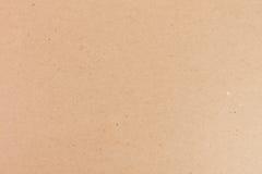 Primer de la textura de la cartulina de Brown Imagenes de archivo