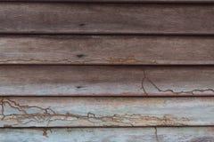 Primer de la textura de madera del fondo de la pared de la casa vieja Imágenes de archivo libres de regalías