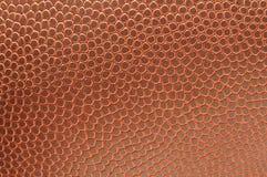 Primer de la textura del balompié Fotos de archivo