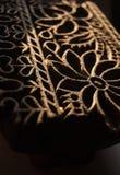 Primer de la textura del sello para la tela Imagen de archivo libre de regalías