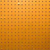 Primer de la textura del tablero de clavija foto de archivo libre de regalías