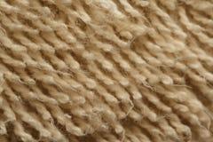 Primer de la toalla de baño Imagen de archivo libre de regalías