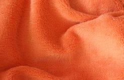 Primer de la toalla de Brown terry Foto de archivo libre de regalías