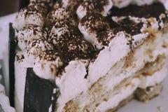 Primer de la torta Imagen de archivo libre de regalías