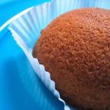 Primer de la torta de zanahoria foto de archivo libre de regalías