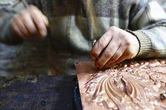 Primer de las artesanías de Isfahán, Irán Fotografía de archivo libre de regalías