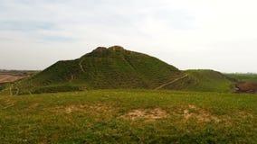Primer de las colinas verdes del campo metrajes