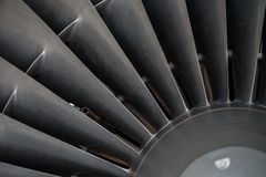 Primer de las cuchillas de turbina Imagen de archivo libre de regalías