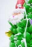 Primer de las decoraciones de la torta Imagen de archivo libre de regalías