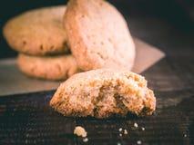 Primer de las galletas de la flor del arroz Foto de archivo
