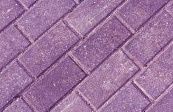 Primer de las piedras del adoquín del pavimento del color Imagenes de archivo