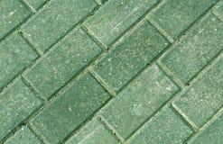 Primer de las piedras del adoquín del pavimento del color Fotos de archivo libres de regalías