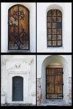 Primer de las puertas imagenes de archivo
