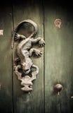 Primer de las puertas viejas Cartagena, Colombia fotos de archivo