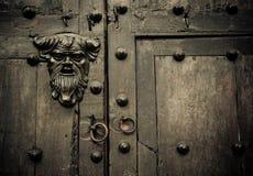 Primer de las puertas viejas Cartagena, Colombia fotografía de archivo
