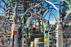 Primer de las torres de los vatios, Los Ángeles del sur Fotografía de archivo libre de regalías