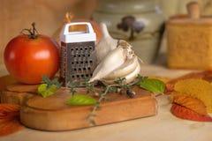Primer de las verduras del otoño Fotos de archivo