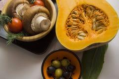 Primer de las verduras del otoño Fotos de archivo libres de regalías