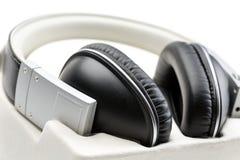Primer de los auriculares Imagen de archivo libre de regalías