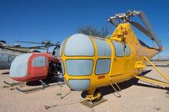 Primer de los aviones del vintage en el aire y el museo espacial de PIMA Fotos de archivo