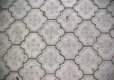 Primer de los azulejos de suelo de cerámica Fotos de archivo