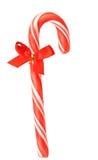 Primer de los bastones de caramelo de la Navidad. Imagen de archivo