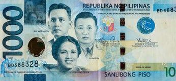 Primer de los billetes de banco del dinero Foto de archivo