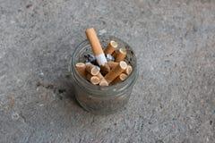 Primer de los cigarrillos Fotografía de archivo