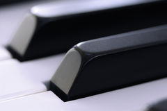 Primer de los claves del piano Fotografía de archivo libre de regalías
