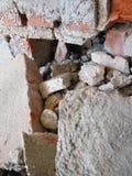 Primer de los escombros Fotos de archivo