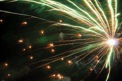 Primer de los fuegos artificiales Fotos de archivo