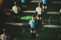 Primer de los futbolistas de la tabla del fútbol Imagenes de archivo
