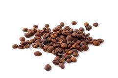 Primer de los granos de café fotografía de archivo