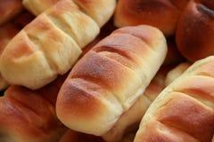 Primer de los panes del pan Imágenes de archivo libres de regalías