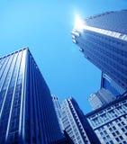 Primer de los rascacielos foto de archivo libre de regalías
