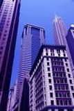 Primer de los rascacielos imagen de archivo