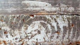 Primer de madera dañado apenado de la textura imagen de archivo