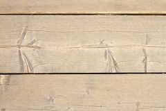 Primer de madera de los tablones Fotos de archivo libres de regalías