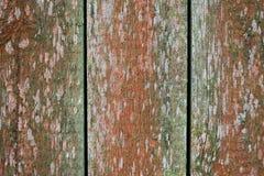Primer de madera viejo de la pared del tablero Foto de archivo libre de regalías