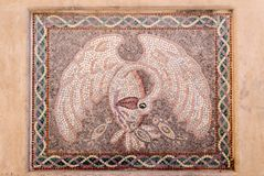Primer de piedra del mosaico Fotografía de archivo