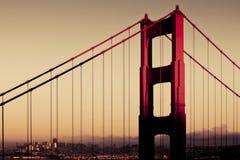 Primer de puente Golden Gate Foto de archivo libre de regalías
