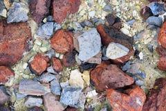 Primer de rocas en John Day Fossil Beds Foto de archivo
