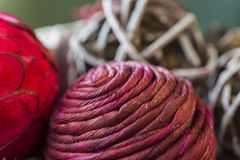 Primer de texturas y de colores hermosos de los vagos del popurrí del día de fiesta imagenes de archivo