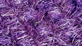Primer de un ornamento púrpura por la Navidad y el Año Nuevo Foto de archivo