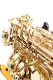 Primer de un saxofón imagen de archivo libre de regalías